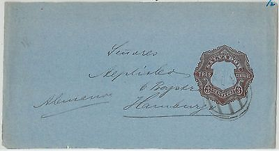 64808 - EL SALVADOR - POSTAL HISTORY: POSTAL STATIONERY COVER  3 Cents COLUMBUS