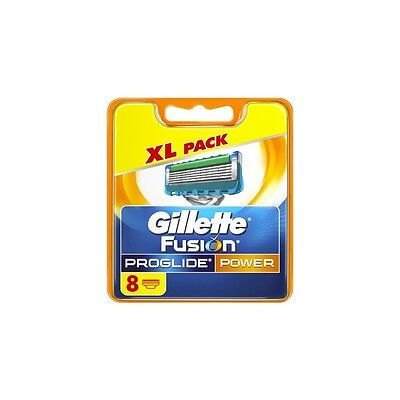 Gillette Fusion Proglide Power - set of 8 replacement blade cartridges
