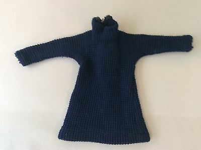 Sindy vintage dolls clothes 1965 Coffee Party 12S61 Blue Dress working zip
