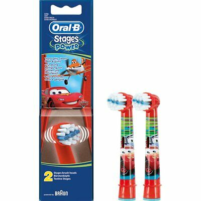 Oral-B Stages Power, set of 2 toothbrush heads - design: Disney Cars