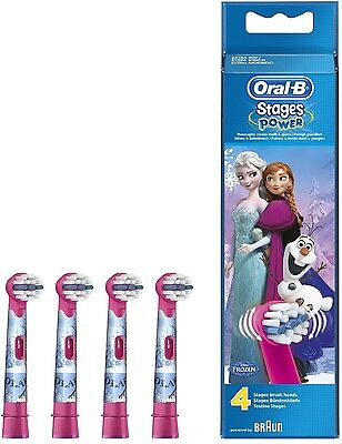 Oral-B Stages Power 4 replacement toothbrush heads - Disney Frozen