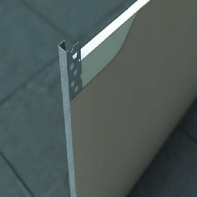 Galvanised Plasterboard Edge Bead 3000mm Long