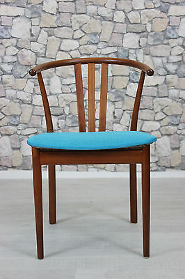 60er TEAK STUHL ARMLEHNSTUHL DANISH DESIGN 60s CHAIR ARM CHAIR VINTAGE