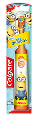 COLGATE Electric toothbrush for children (batteries included) MINIONS Orange