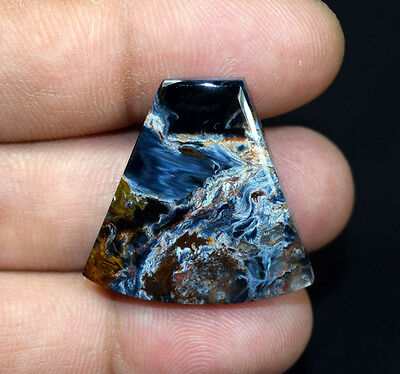 28.70 Cts. 100 % Natural Chatoyant Pietersite Fancy Cabochon Loose Gemstones