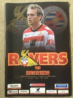 Doncaster Rovers v Reading 08/09