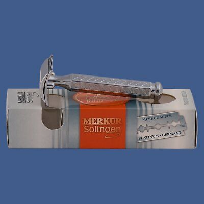 Merkur 1904 Safety Razor Chrome (90 42 001)