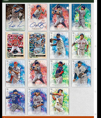 topps bunt digital inception lot with legendary debut signature and much more