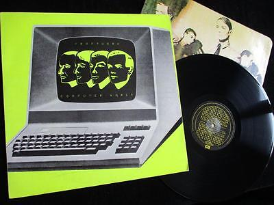 KRAFTWERK - Computer World - UK EMI Records 1981 - Orig LP A1,B1 - Inner - EX/EX