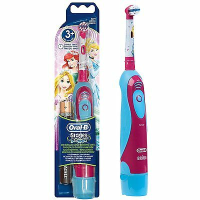 Oral-B Stages Power toothbrush for children (batteries included)-Disney PRINCESS