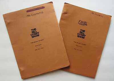 "Vintage 1969 ""Bill Cosby Show"" scripts ""Gumball Incident"" First & Final Drafts"