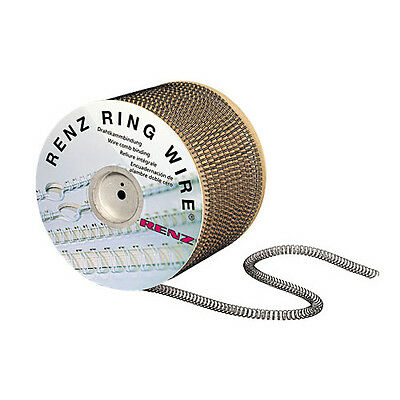 Renz Premium Quality Ring Loop Binding Wires - Various Pitch's, Sizes & Colours