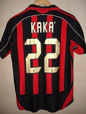 Maglia Shirt Ac Milan Adidas Player Issue Kakà Patch Champions 6 Final 2007 2006