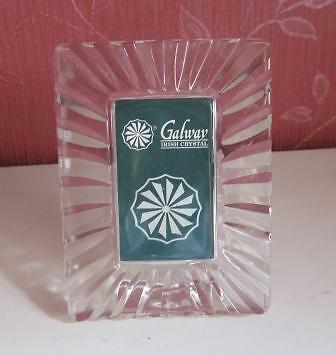 Galway Crystal Photo Frame