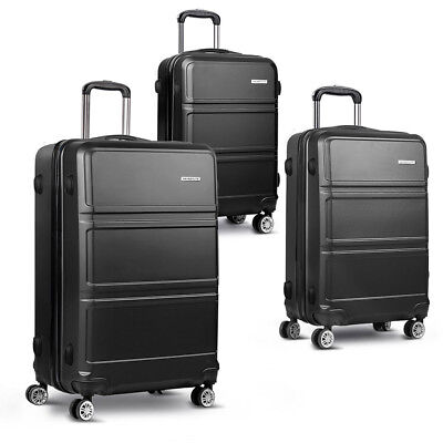 "*3pc Luggage Set 20, 24 and 28"" – Black **FREE DELIVERY**"