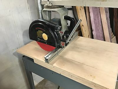 """Delta/Rockwell 12"""" Radial Arm Saw 33-790"""
