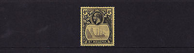 St Helena - 1922-37 4d (MCA) - Mounted Mint - SG 92