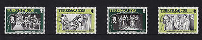 Turks & Caicos Islands - 1984 Sir Arthur Conan Doyle - U/M - SG 813-816