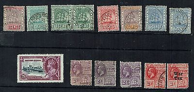 British Guyana  small mix some higher value older  stamps