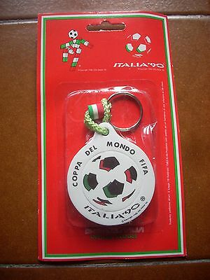 Deadstock Italy 1990 Official Football Fan Key Ring Casuals Germany 80 World Cup