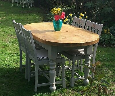 A Beautiful Dining Table And 4 Chairs