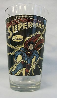 Superman ~ Classic Cover ~ New Drinking Glass by ICUP