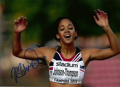 Katarina Johnson-Thompson Original handsigniert 12x8