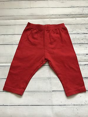 Baby Girls Clothes 0-3  Months - Cute Red Leggings -