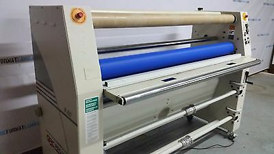 GBC Falcon 60 - Dual Heat Roll Wide Format Laminator - Handles Media up to 61""