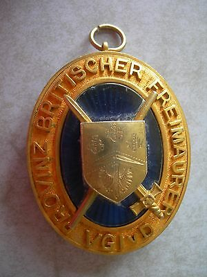 Silver Masonic Past Provincial Collar Jewel,germany
