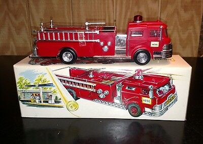 1970 Hess Fire Truck - New Condition - Mint Original-Works Perfect!!