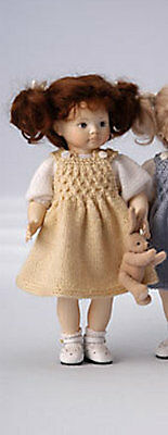 Erika Catellini Hand Carved Maple Wooden Doll Lucie #12 Of 25 Rare Free Ship