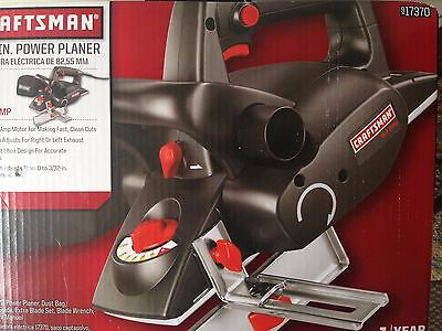 "Craftsman 17370 5 Amp 3-1/4"" Corded Power Planer -New!"