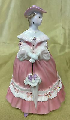 Royal Worcester figurine 'Lady Emma' 'The Fashionable Victorians' Collection V&A