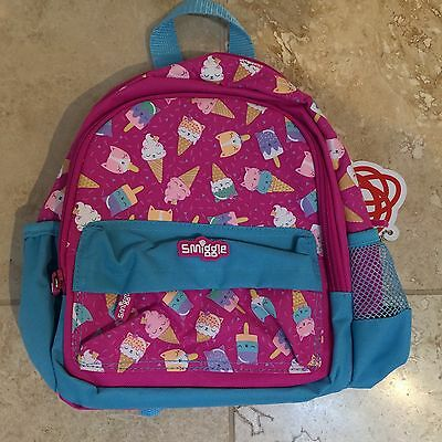 Smiggle Backpack Rucksack Girls School Bag BNWT