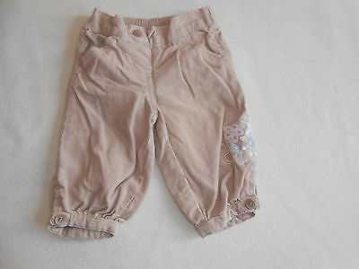 Baby Girls Clothes 0-3 Months - Cute Cord Trousers -