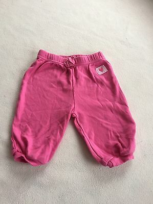 Baby Girls Clothes 3-6 Months - Cute Pink  Trousers -