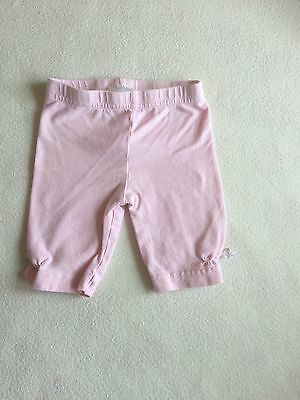 Baby Girls Clothes 3-6 Months - Cute  3/4 Leggings Trousers -