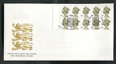 2000 Millennium Definitive Cylinder No. booklet Pane