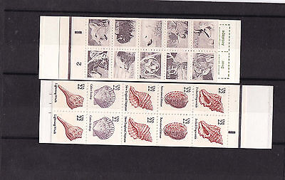 two booklets MNH                   j830