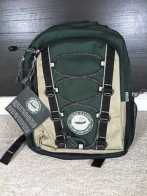 Junior Ranger Child's Backpack Green Tan Brand New w/ Tags Coyote