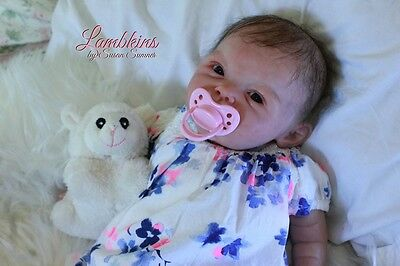 Lambkins Nursery GORGEOUS reborn baby girl, from Adeline by Ping Lau