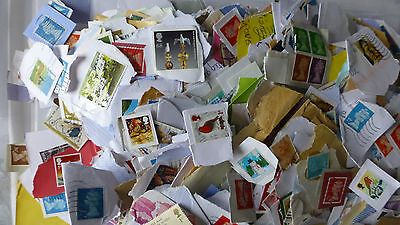 1kg Kiloware stamps, Unsorted from UK charity Postage stamps ,