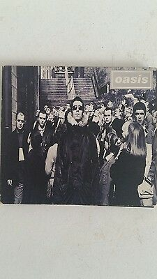 """Oasis Single CD """"d'you know what i mean""""  SIGNED by Noel Gallagher"""