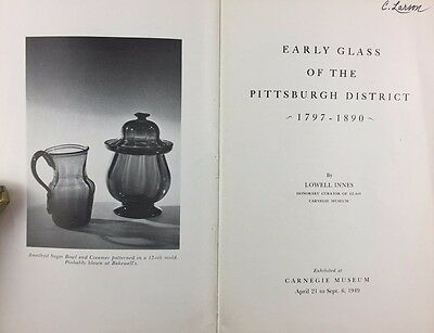 Art Exhibition Catalogue 1949 Early Glass Pittsburgh District Carnegie Museum