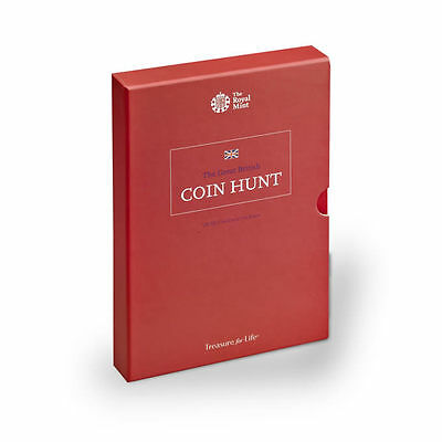 The Great British Coin Hunt 50p Album (Extended Version) Royal Mint