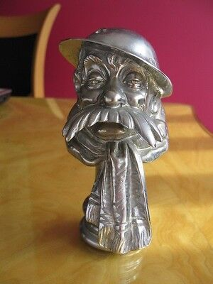 Rare WW1 Old Bill Chrome  Bus/Truck  Mascot