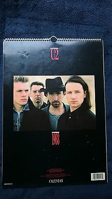 U2 Kalender 1988 -  The Joshua Tree -  42 x 30 cm