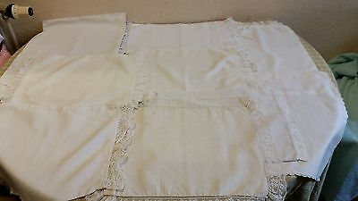 Antique baby pillow cases
