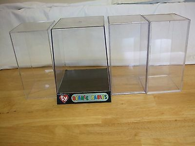 Ty Beanie Babies Display Cases /  Boxes x 4